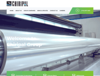 chiripalgroup.com screenshot