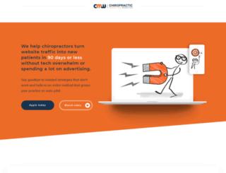 chiropracticmarketingwebsites.com screenshot