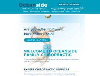 chiropractortauranga.com screenshot