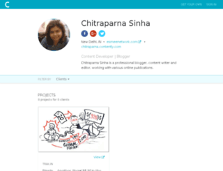 chitraparna.contently.com screenshot