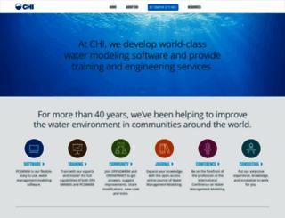chiwater.com screenshot