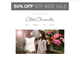 chloechrisanthi.com.au screenshot