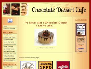 chocolate-dessert-cafe.com screenshot