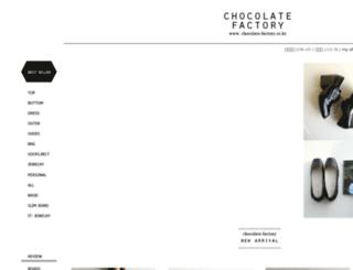 chocolate-factory.co.kr screenshot