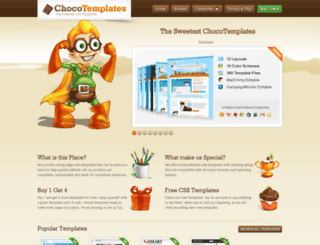 chocotemplates.com screenshot