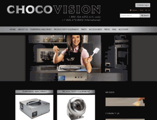 chocovision.com screenshot