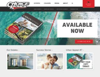 choicehomes.com.au screenshot