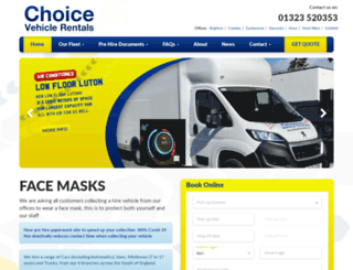 choicevehiclerentals.com screenshot