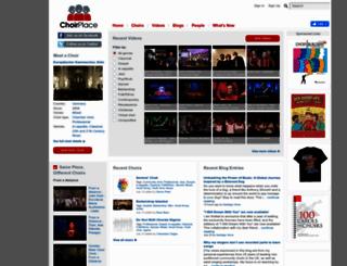choirplace.com screenshot