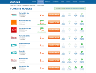 choisir-son-forfait.com screenshot