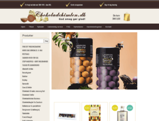 chokoladehimlen.dk screenshot