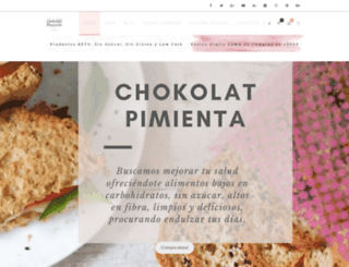 chokolatpimientae.blogspot.mx screenshot