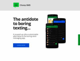 chompsms.com screenshot