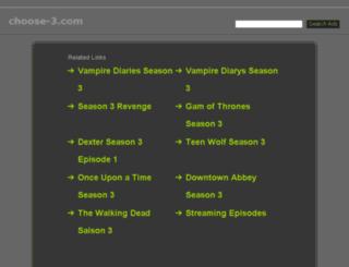 choose-3.com screenshot