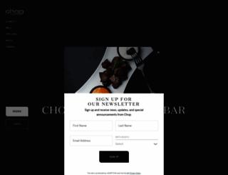 chop.ca screenshot