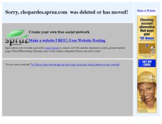 chopardes.spruz.com screenshot