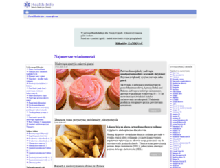 choroby.health-info.pl screenshot