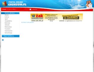 chorzow.pl screenshot