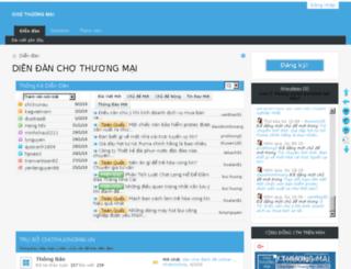 chothuongmai.vn screenshot