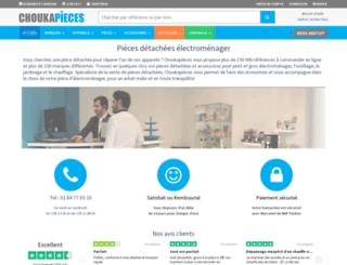 choukapieces.com screenshot