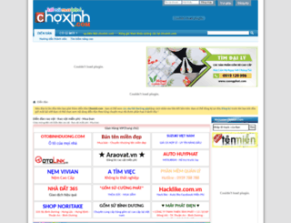 choxinh.com screenshot