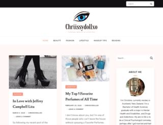 chriissydollxo.com screenshot