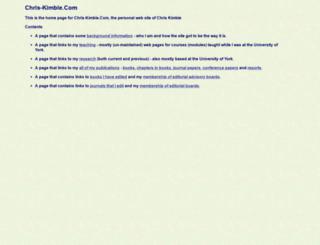 chris-kimble.com screenshot