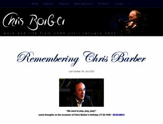 chrisbarber.net screenshot