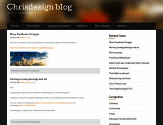 chrisdesign.wordpress.com screenshot