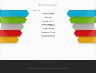 chrisfarrell-online.com screenshot