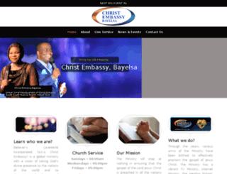 christembassybayelsa.org screenshot