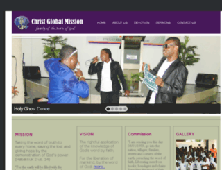 christglobalmissionww.com screenshot
