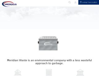 christiandisposal.com screenshot