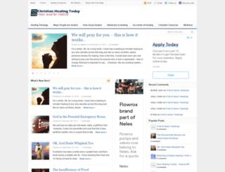 christianhealingtoday.com screenshot