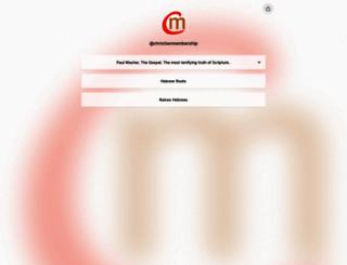 christianmembership.com screenshot