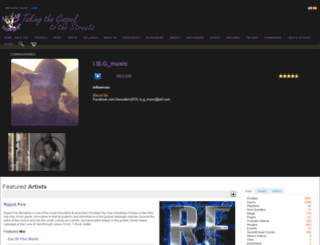 christianrap.com screenshot