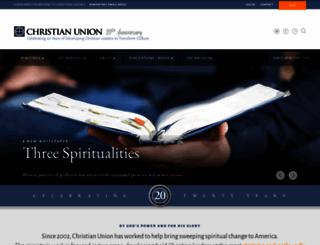 christianunion.org screenshot