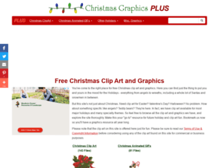 christmas-graphics-plus.com screenshot
