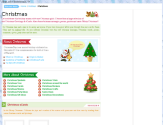 christmas.greet2k.com screenshot