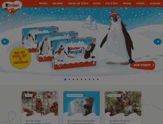 christmas.kinder.com.de screenshot