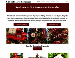christmas2remember.com screenshot