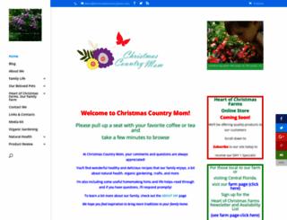 christmascountrymom.com screenshot