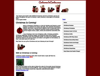 christmasiscoming.co.uk screenshot