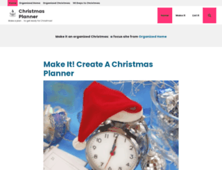 christmasplanner.com screenshot