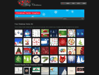 christmasvector.com screenshot