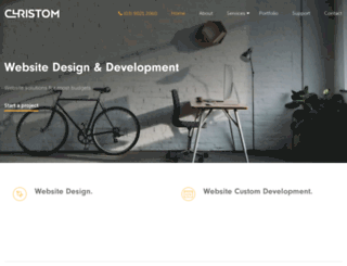 christom.com.au screenshot