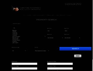 christone.idxbroker.com screenshot