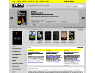christoph-links-verlag.de screenshot