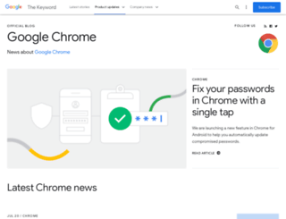 chrome.blogspot.co.il screenshot