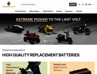 chromebattery.com screenshot